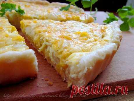 Постигая искусство кулинарии... : Луковый пирог.