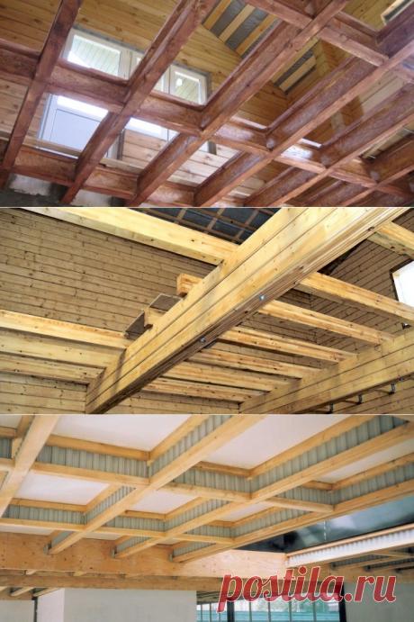 Какую древесину лучше выбрать для деревянных перекрытий? ⋆ DomaStroika.com