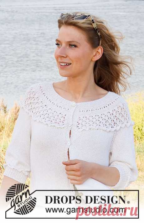Жакет Incoming Tide - блог экспертов интернет-магазина пряжи 5motkov.ru