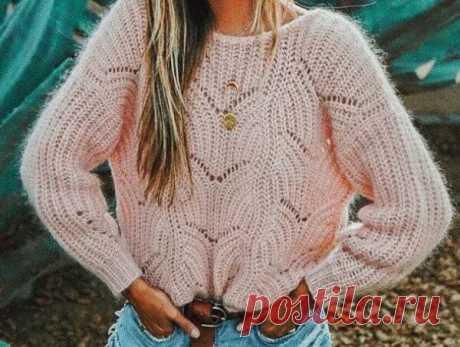 Пуловер патентной резинкой В подборке одежды оттенка бежмногим понравился джемпер с очень интересным узором из патентной резинки.. Сегодня я покажу вам, как вязать свитер с таким узором, и какие ещё модели можно связать, понимая принцип вязания патентной резинки.