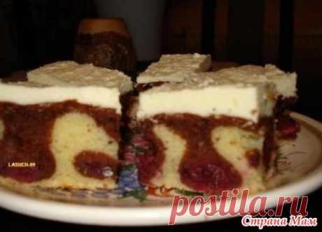 """Пирог или торт """"Волны Дуная"""" - Меню на каждый день - Страна Мам"""