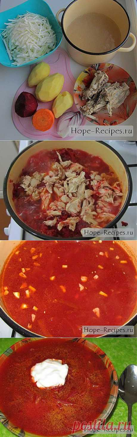 Пошаговая инструкция— рецепт вкусного борща © Кулинарный блог #Рецепты Надежды