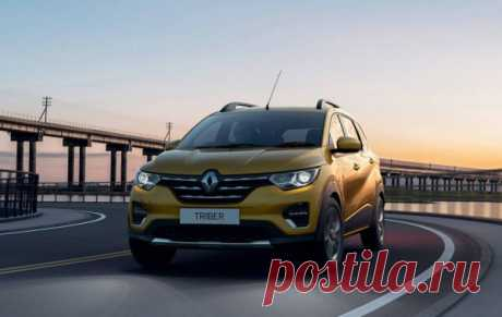 Renault Triber 2019 - новый микровэн - цена, фото, технические характеристики, авто новинки 2018-2019 года
