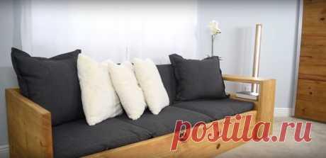 Простой диван-кровать своими руками