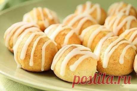 Творожно-лимонное печенье  Ингредиенты:  Творог — 100 г Показать полностью…
