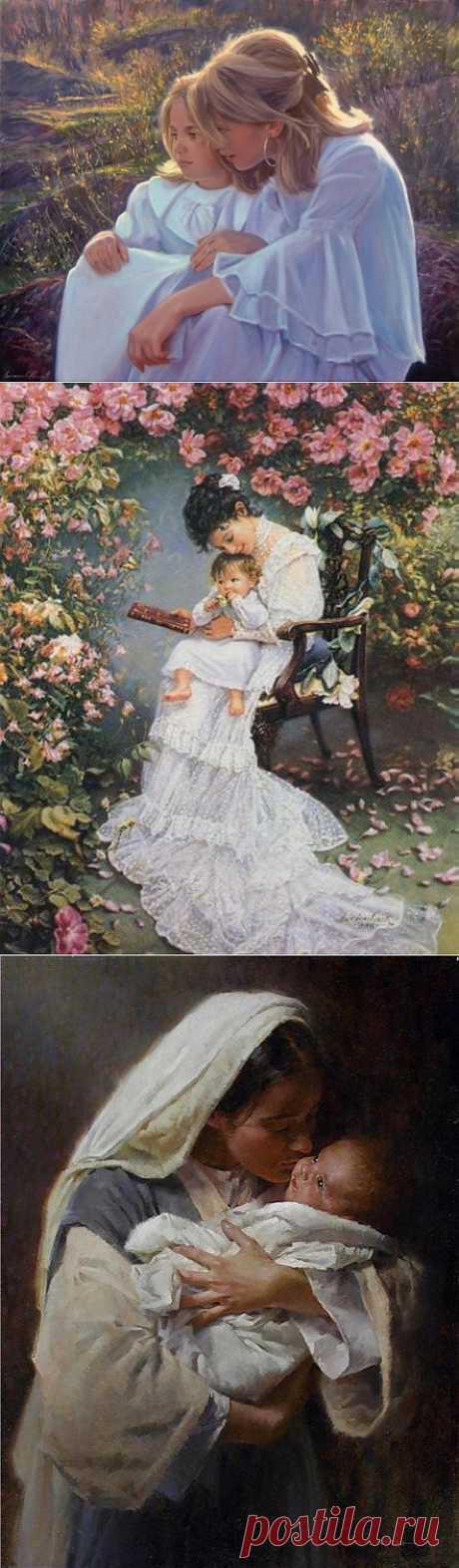 Материнская любовь,нет на свете сильнее силы..