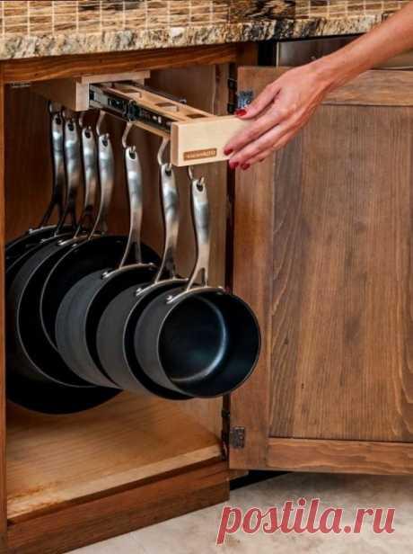 Системы хранения посуды на кухне: удобные идеи на фото