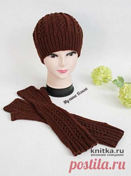 Вязание шапок. Бесплатные схемы вязания спицами шапок для женщин и мужчин на Knitka.ru.
