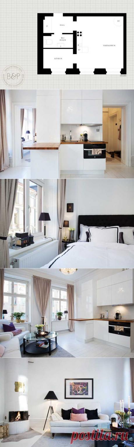 〚 32 метра стиля и уюта в Швеции 〛 ◾ Фото ◾Идеи◾ Дизайн