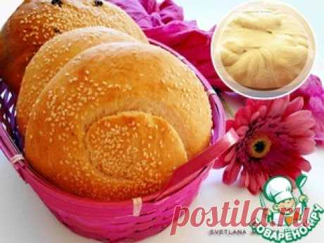 Tasty fancy pastry - the culinary recipe