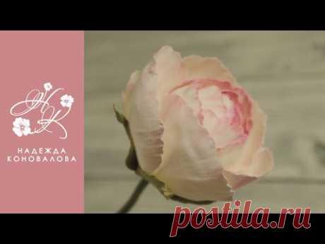 Мастер-класс роза Дольче Вита из фоамирана