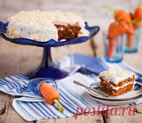 Швейцарский морковный торт или Rübli Kuchen - в поисках ВКУСОВЫХ ощущений......