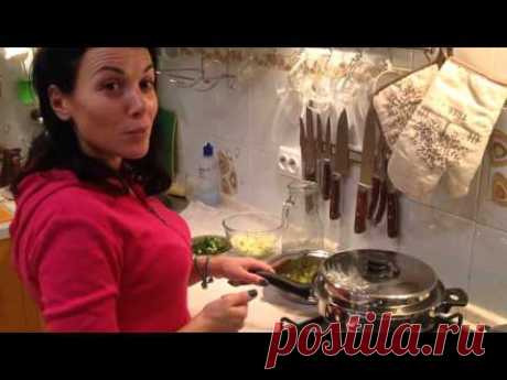 Продолжение готовим в посуде ICOOK винегрет видео2