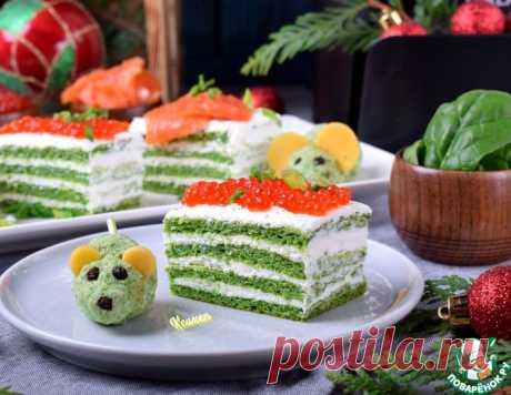 Заготовка для закусочного торта – кулинарный рецепт