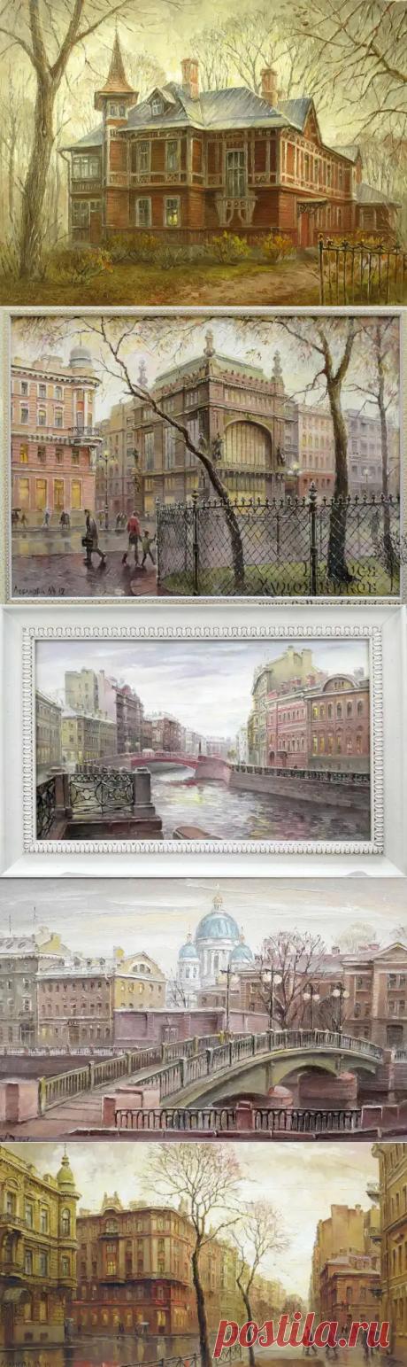 Петербург художницы Маргариты Лобановой
