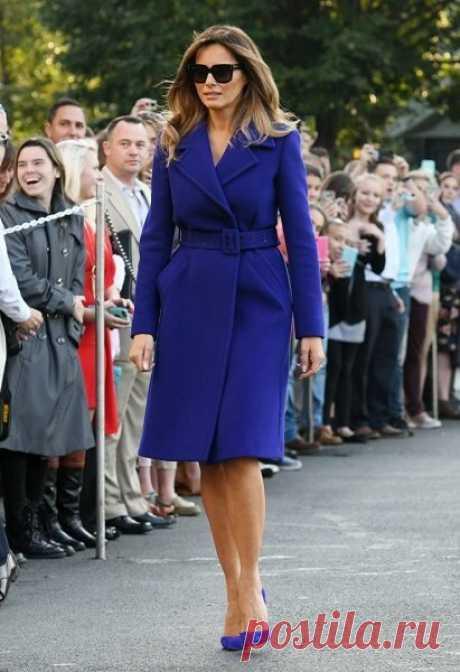 5 правил стиля первой леди: как одевается Мелания Трамп - Икона стиля