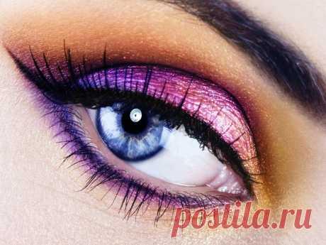 Как красиво подчеркнуть ваши глаза?   Красота Здоровье Мотивация