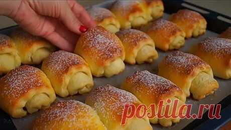 Вкусные мягкие творожные булочки