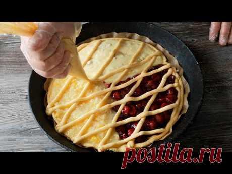 Популярный в Осетии песочный пирог с тремя начинками! 🥧