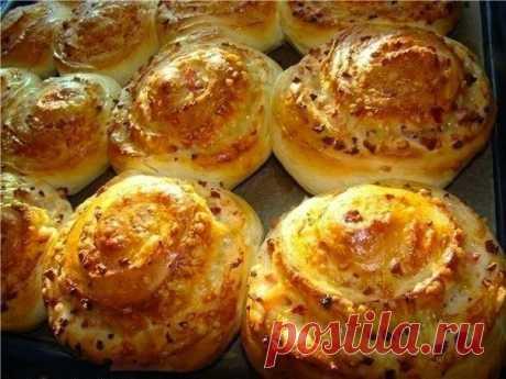 Как приготовить сырные булочки - рецепт, ингредиенты и фотографии