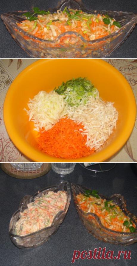 Витаминный салат   Вкусный день