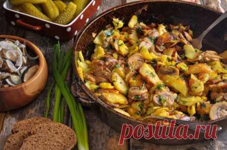5 способов приготовить жаренную картошку
