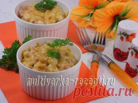 Жюльен из цветной капусты, пошаговый рецепт с фото Сегодня я хотела бы предложить вам вкусный рецепт жюльена из цветной капусты. Французская запеканкая из доступных продуктов.