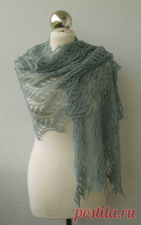 30 схем вязания палантина спицами, Вязание для женщин