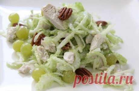 Салаты со стеблевым сельдереем: яркий вкус и минимум калорий!.