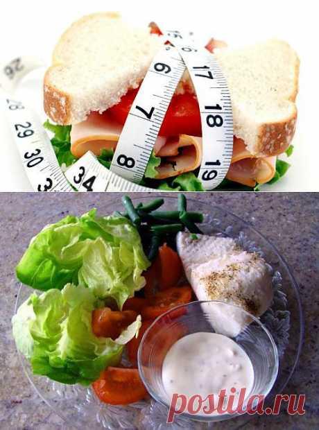 Меню на 1000 калорий в день Эффективное похудение
