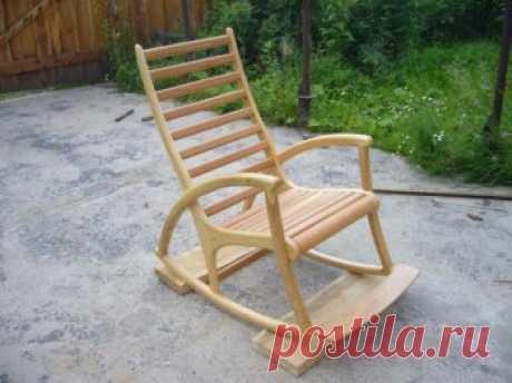 Кресло качалка из дерева своими руками — ОчУмелые ручки