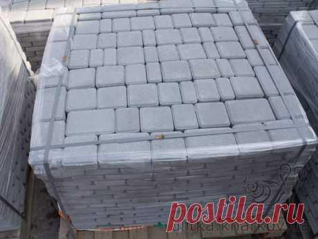 Вібропресована тротуарна плитка - Будівельні послуги Тальне на board.if.ua код оголошення 54114