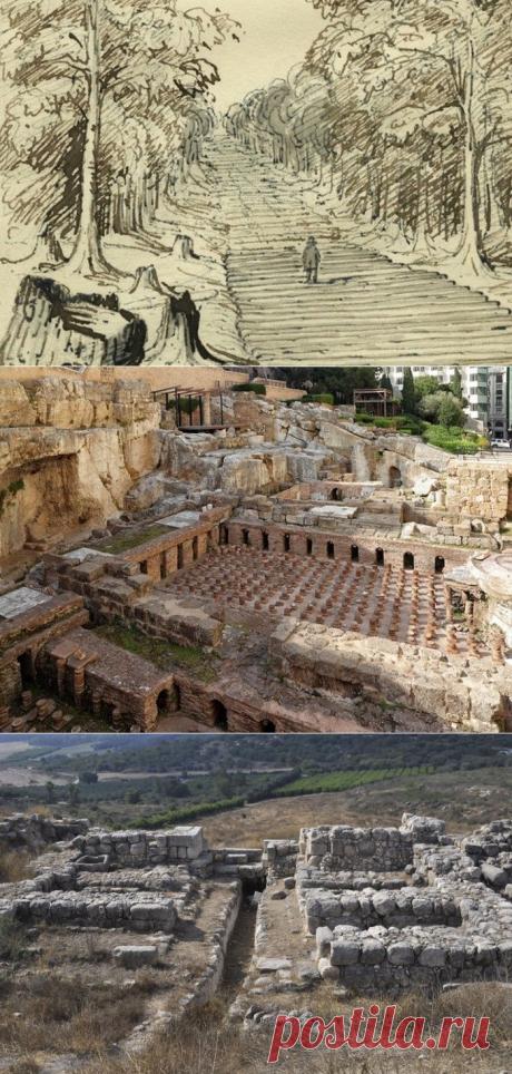 Древние артефакты, найденные под современными городами