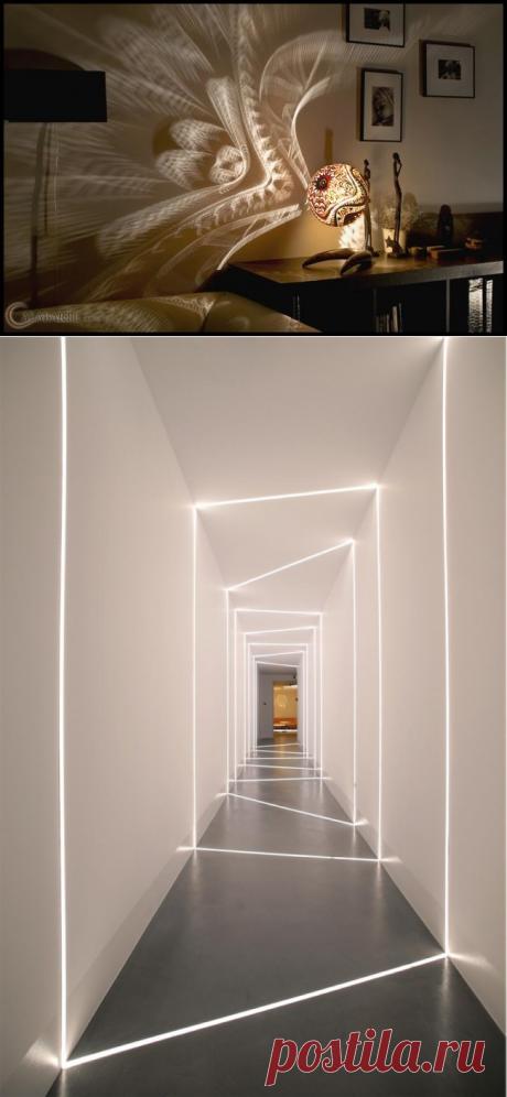 Освещение, которое может кардинально изменить пространство одним щелчком выключателя