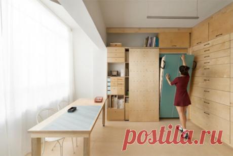 Как организовать пространство маленькой квартиры | flqu.ru - квартирный вопрос. Блог о дизайне, ремонте