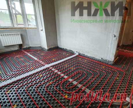 Монтаж отопления в доме из кирпича, фото 794