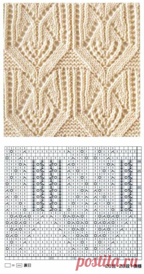 Japanese Lace Knitting Pattern - Knitting Kingdom