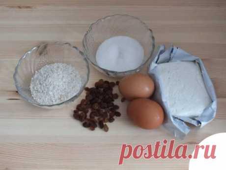 Творожно-рисовая запеканка в мультиварке