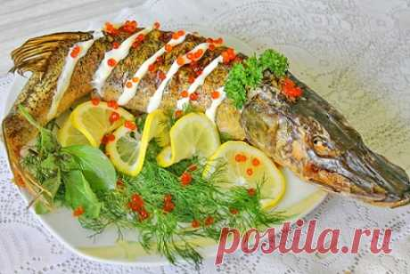 Фаршированная щука по-еврейски: варианты приготовления рыбы