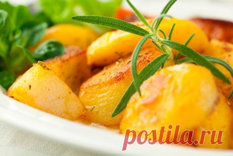 «Отмороженная» картошка. Необычный рецепт картошки в духовке / Простые рецепты