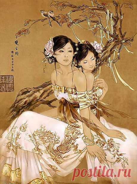 Китайская живопись.....))))))))