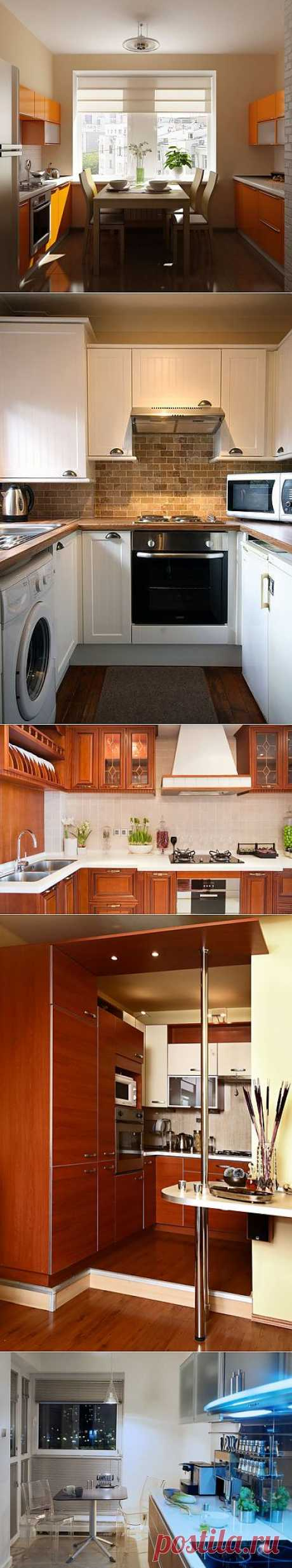 10 идей для дизайна малогабаритной кухни | Дизайн кухни фото