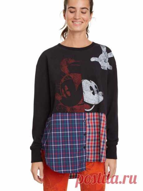 Desigual Hybrid Sweatshirt MICKEY MOUSE Annarau