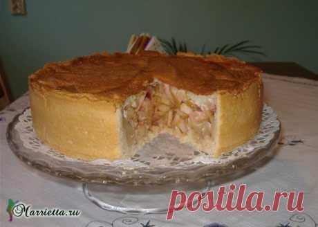 Яблочный пирог с безе. Вкусный рецепт