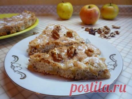 Милопита - яблочный пирог по-гречески