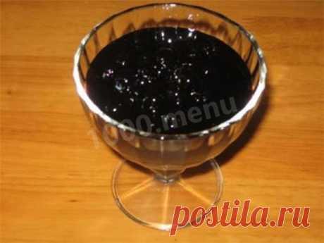 Варенье из черноплодной рябины рецепт с фото - 1000.menu