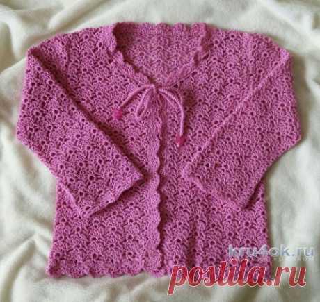 Jacket for the girl a hook. Aleksandra Karvelis's work