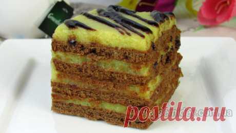 Очень вкусный Торт Без Выпечки ☆ Никто не догадается из чего крем ☆ Так просто и так вкусно
