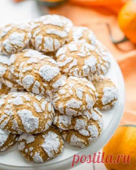 Тыквенное печенье — Sloosh – кулинарные рецепты