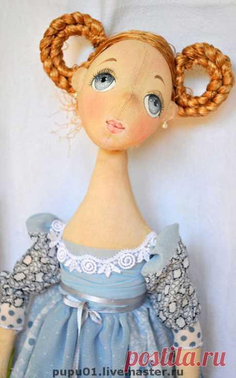 Купить Барышня - барышня, эксклюзивный подарок, оригинальный подарок, интерьерная кукла, текстильная кукла